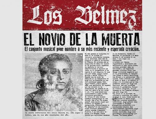 SPO008CD – Los Bélmez – El Novio de la muerta (2016)